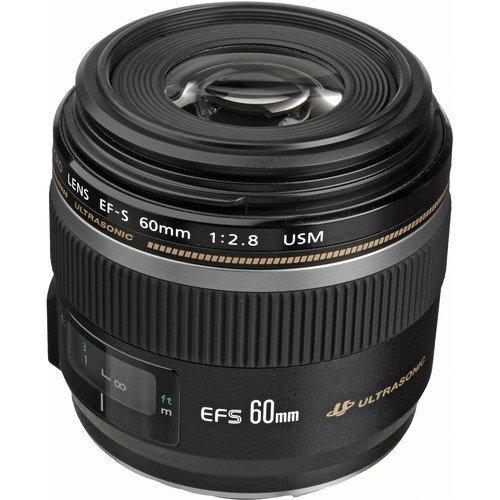 Lente Canon Ef-s 60mm F/2.8 Macro Usm Brasil 12x S/juros