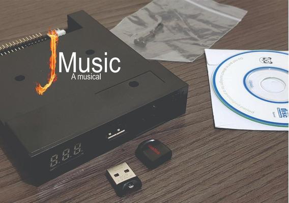 Drive Emulador De Disquete Com Entrada Usb Pen Drive