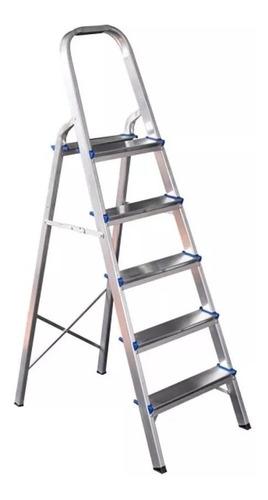 Escada De 5 Degraus Peso Máximo 120 Kg