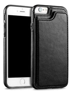 Funda Cubierta Tarjetero Para iPhone 6/6plus7/8 Plus X Xr