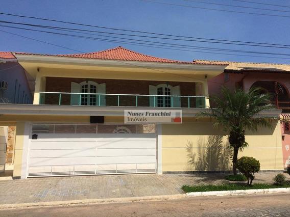 City América-zo/sp- Sobrado 5 Dormitórios,4 Vagas,piscina E Churrasqueira - R$ 1.890.000,00 - So0935