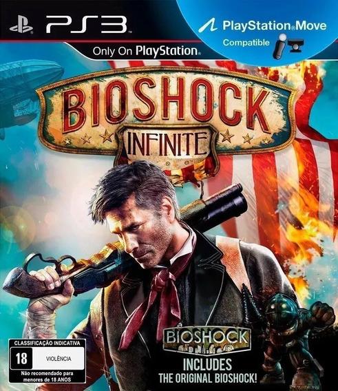 Bioshock Infinite + Bioshock 1 Ps3 Lacrado!!!