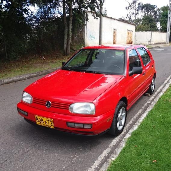Volkswagen Golf 1995 1.8 Gl - Rojo, Excelente Condición