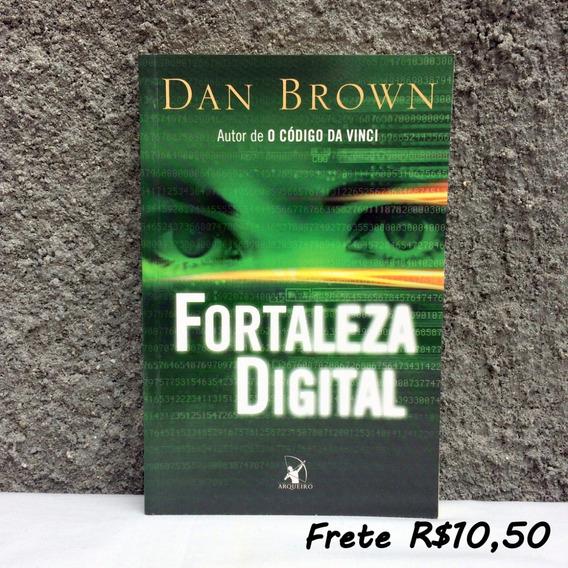 Fortaleza Digital - Livro De Dan Brown - Novíssimo