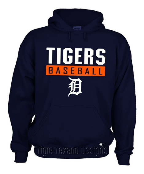 Sudadera Tigers De Detroit Mod. L By Tigre Texano Designs