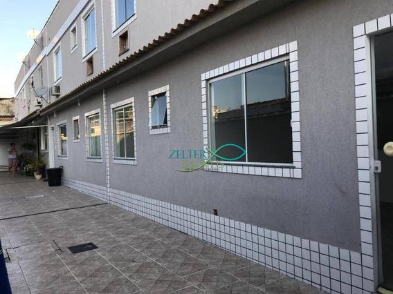 Excelente E Moderna Casa Duplex. Toda Em Porcelanato Com Janelas De Blindex. - Ca0341