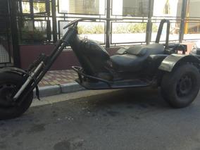 Troco Ou Vendo Triciclo Feito A Partir De Chassi De Fusca