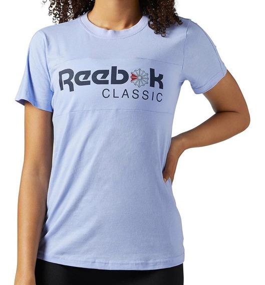 Playera Classic Short Sleeve Tee Mujer Reebok Bq2497