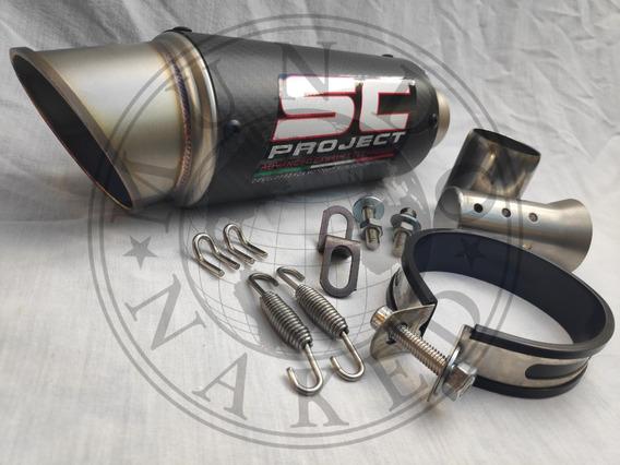 Escape Sc Project Suzuki Gsr 750 + Link Pipe + Dbkiller