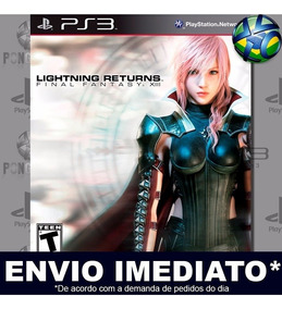 Lightning Returns Final Fantasy Xiii Ps3 Mídia Digital Psn