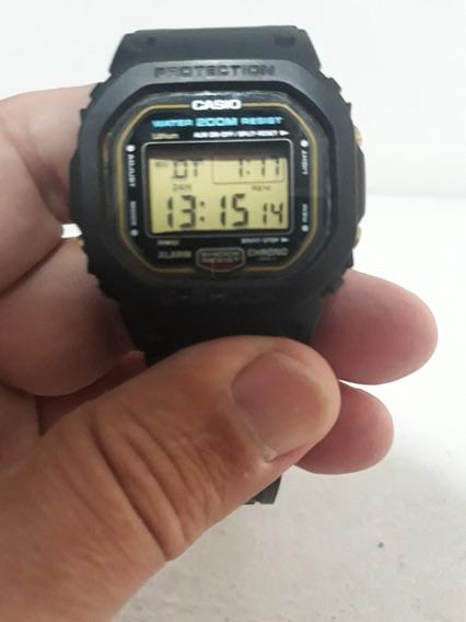 Relógio G Shock Antigo !! Fundo De Rosca Dw 5600 !