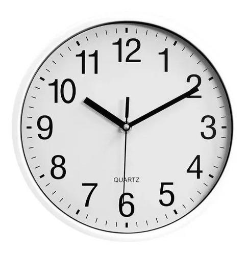Imagen 1 de 4 de Reloj De Pared Moderno Grande Clásico Quartz Diseño