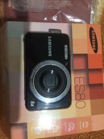 Câmera Digital Es80 Samsung 12mp + Cartão 8gb E Acessórios