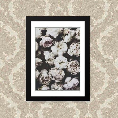 Quadro Flores Brancas 33x43cm