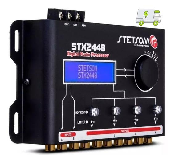 Processador Crossover Digital Equalizador Stx2448 Stetsom