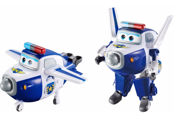 Super Wings 1 Fig Transformable Surt 13 Cm Int 710003 Orig