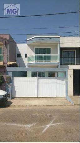 Casa Com 3 Dormitórios À Venda, 116 M² Por R$ 250.000 - Verdes Mares - Macaé/rj - Ca0192