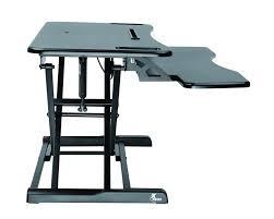 Mesa Estacion De Trabajo Ajustable Para Trabajar Sentado Y D