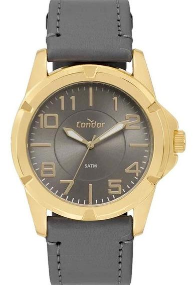 Relógio Condor Masculino Couro Clássico Social Co2035kxf