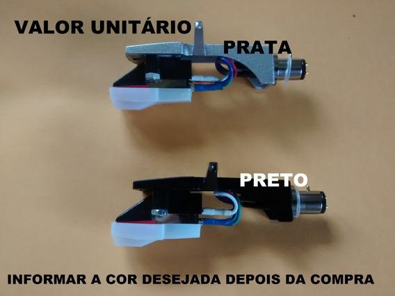 Headshell Universal + Capsula + Agulha Technics Polyvox Sony