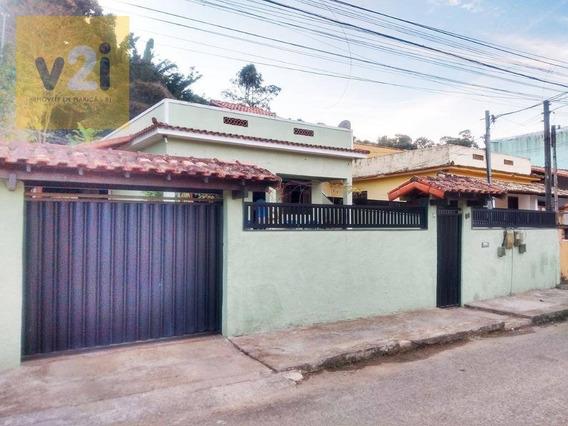 Casa Com 4 Dormitórios À Venda, 145 M² Por R$ 350.000,00 - Flamengo - Maricá/rj - Ca0252