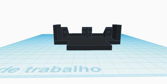 Projeto Pronto Impressora 3d Chassis Robo Sumo