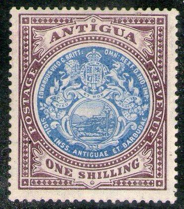 Antigua Sello Nuevo Escudo De La Colonia X 1s. Años 1908-17