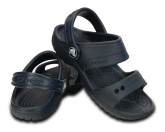 Crocs Classic Sandal K Sandália Infantil Navy
