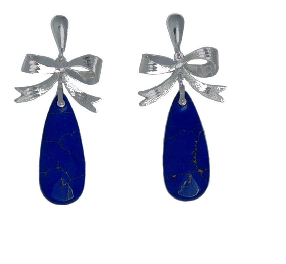 Brinco Lapiz Lazuli