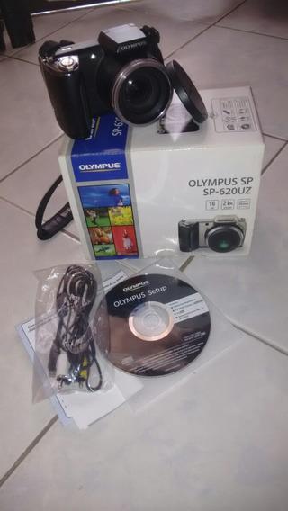 Câmera Olympus Sp-620uz + Tripé Stc-360