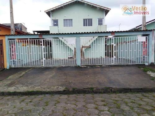 Imagem 1 de 7 de Casa Com 1 Dormitório À Venda, 40 M² Por R$ 115.000,00 - Jd Nossa Senhora Do Sion - Itanhaém/sp - Ca0555