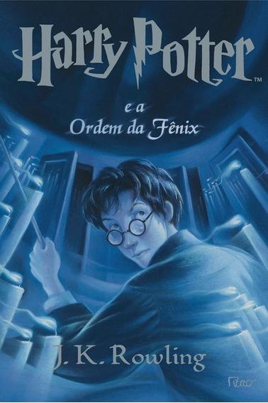 Harry Potter E A Ordem Fênix - 5º. Livro - Rocco