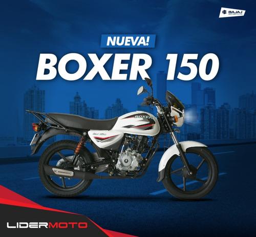 Bajaj Boxer 150 Caja 5ta -18 Cuota S. Interés Lidermoto