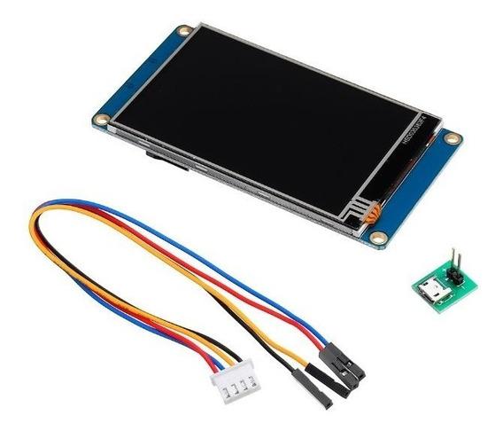 Tela Lcd Nextion 3.5pol Ihm Led Touch Arduino Pic Clp