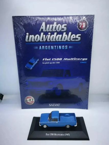 Autos Inolvidables Argentinos Salvat 79 Fiat 1500 Multicarga