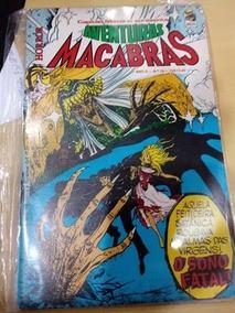 Aventuras Macabras Horror Nº 16 Bloch Editora Marvel Comics