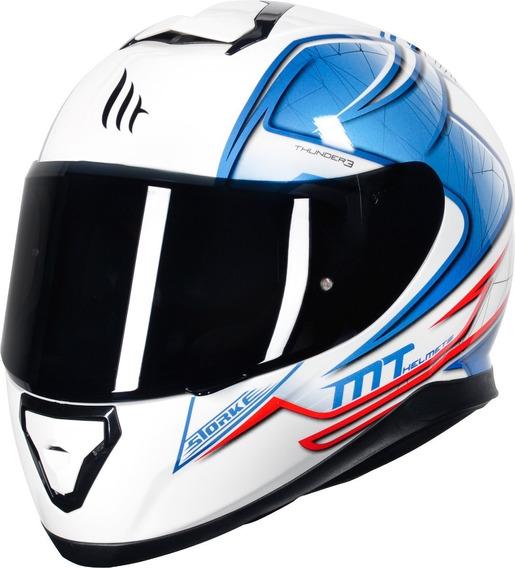 Capacete Moto Mt Helmtes Thunder 3 Storke 4 Estrelas Sharp