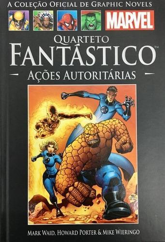 Hq Marvel Quarteto Fantástico: Ações Autoritárias Ed. 31