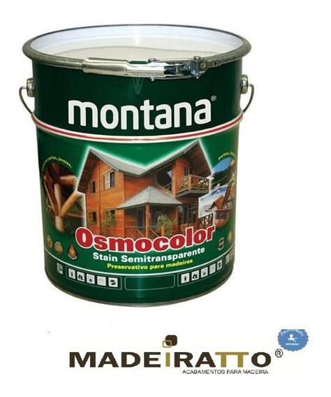 Osmocolor Stain Incolor Uv Glass - 18l