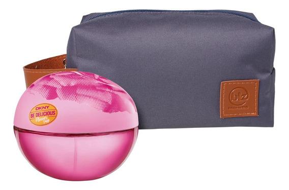 Conjunto Be Delicious Flower Pop Pink Bag Dkny (2 Produtos)