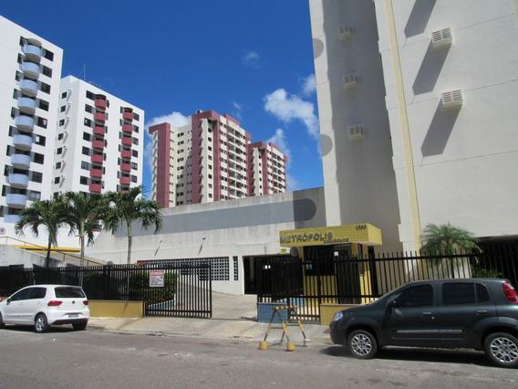 Apt No Cond Metropolis Residence, Semi Mobiliado Com +-92m² No Bairro Grageru - Cp5443