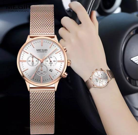 Relógio Megir Rose
