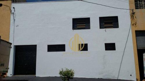 Imagem 1 de 4 de Salão À Venda, 250 M² Por R$ 360.000 - Parque Ind Tanquinho - Ribeirão Preto/sp - Sl0019