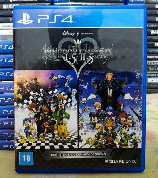 Kingdom Hearts Hd 1.5 + 2.5 Remix - Jogo Ps4 Em Mídia Física
