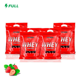 Combo 4x Nutri Whey Protein 907g Refil - Integral Medica