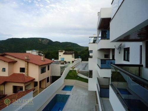 Imagem 1 de 14 de Apartamento Na Praia Do Santinho Com 1 Suíte - Ap5578