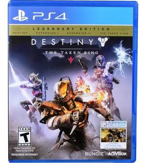 Destiny The Taken King Ps4