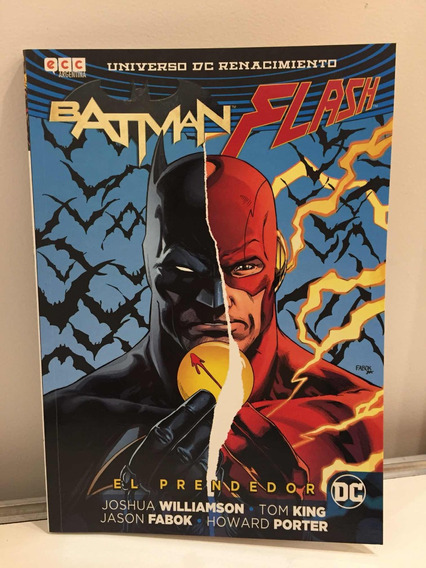 Cómic, Dc, El Prendedor. Batman, Flash. Ovni Press