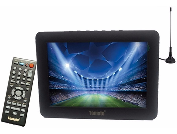 Tv Digital Portatil Tomate Tela De 7 Polegadas Led Mtm 707