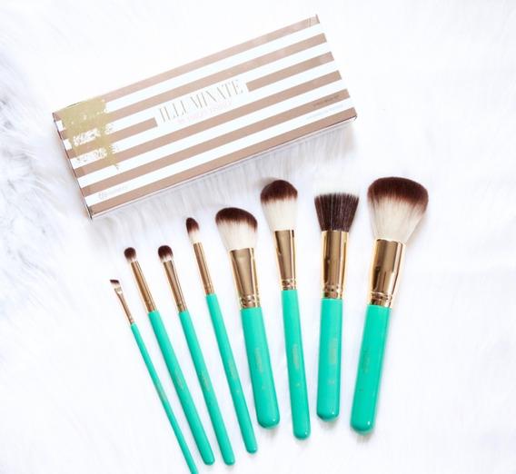 Set De 8 Brochas Bh Cosmetics Illuminate Ashley Tisdale